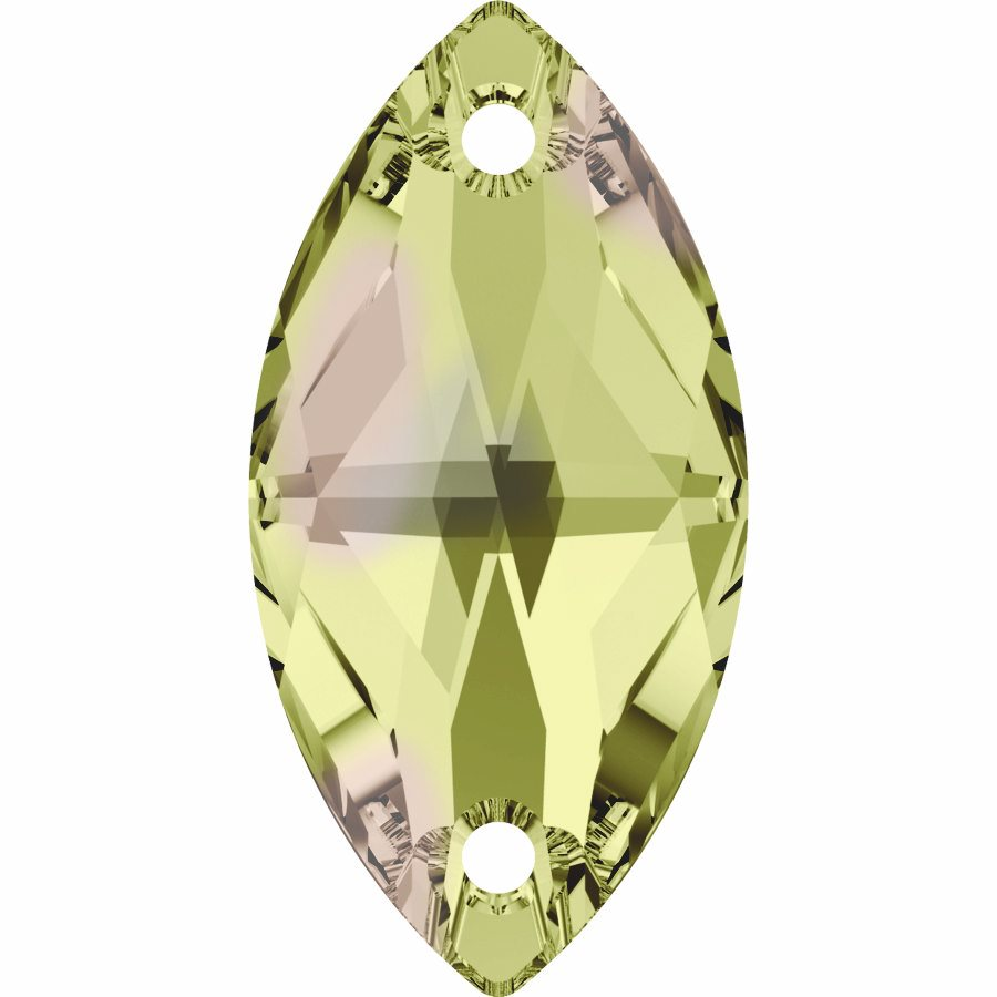 Swarovski 3223 Sew-on Stone (Luminous Green)