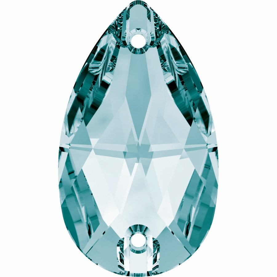 Swarovski 3230 Sew-on Stone (Light Turquoise)