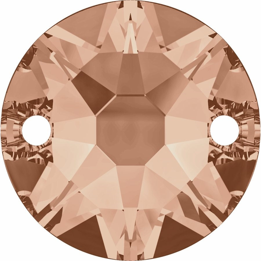 Swarovski 3288 Sew-on Stone (Light Peach)