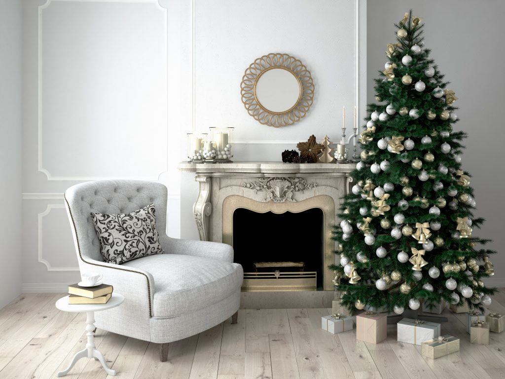 Festive Decor for Your Fireplace