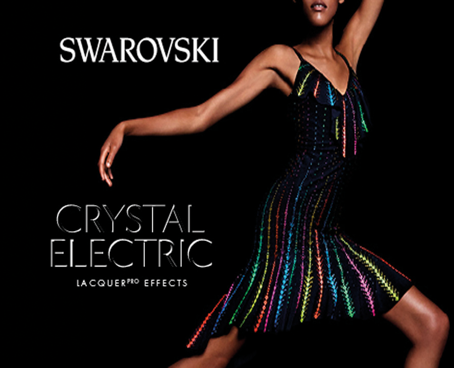 Swarovski Crystal Electric Lacquer PRO Colors