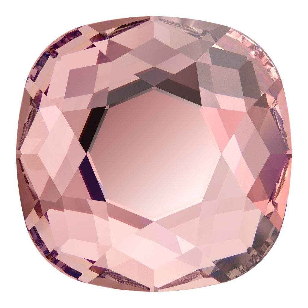 Swarovski Innovations for Fall/Winter 2020/21 2471 Cushion Rose 319 Flat Back