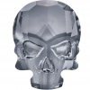 SWAROVSKI®  2856 Skull  Crystal Silver Night  Unfoiled