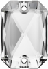 SWAROVSKI®   3252  Emerald Cut Crystal   Foiled