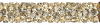 SWAROVSKI®   5951  Fine Rocks Tube Crystal Gold.Shadow