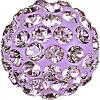 SWAROVSKI® 86001 Pave Ball Light Amethyst