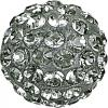 SWAROVSKI® 86001 Pave Ball Black Diamond
