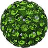 SWAROVSKI® 86001 Pave Ball Dark Moss Green