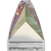 SWAROVSKI®   3296 Square Spike Crystal Aurore Boreale  Foile