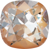 SWAROVSKI®   4470 Cuchion Square Crystal Peach DeLite