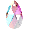 SWAROVSKI®   6106 Pear Light Amethyst Shimmer