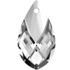 SWAROVSKI®   6565  Metallic Cap Pear Crystal