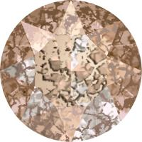 SWAROVSKI® 1088 CRYSTAL ROSE PATINA foiled