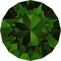 SWAROVSKI® 1088 DARK MOSS GREEN foiled