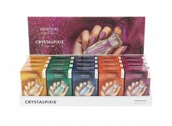 NAIL BOX Crystalpixie™  PEDITE  Easy Display (20x5g)  May 20
