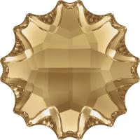 SWAROVSKI® 2612 Jelly Fish  Crystal Gold.Shadow  Foiled MM 14,0|6 Stück - 18.90 EUR