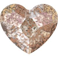 SWAROVSKI® 2808 Crystal Rose Patina Foiled
