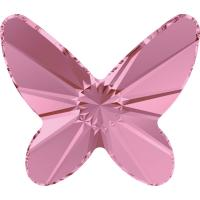 SWAROVSKI® 2854 Butterfly Light Rose foiled MM 12,0|1 Stück - 1,90 EUR