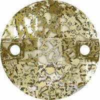 SWAROVSKI® 3220 Crystal Gold Patina