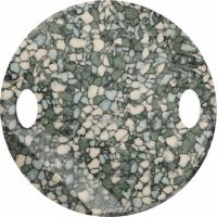 SWAROVSKI® 3221 Twist Sew-on   Marbled Seagreen