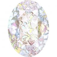 SWAROVSKI® 4120 Crystal White Patina Foiled