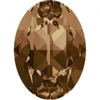 SWAROVSKI® 4120 Light Smoked Topaz  Foiled