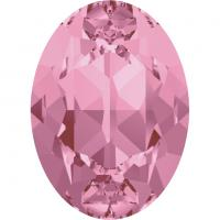 SWAROVSKI® 4120 Light Rose  Foiled