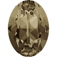 SWAROVSKI® 4120 Smoky Quartz  Foiled