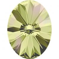 SWAROVSKI® 4122 Rivoli  Crystal Luminous Green  Foiled