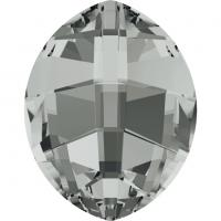 SWAROVSKI® 4224 Crystal Silver Night Unfoiled