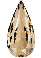 SWAROVSKI®   4322 Teardrop Light Colorado Topaz