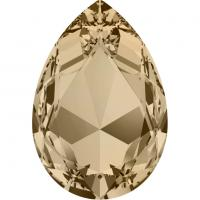 SWAROVSKI® 4327 Crystal Golden Shadow Foiled
