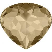 SWAROVSKI® 4370 Crystal Golden Shadow Unfoiled MM 15,5X 14,0|72 Stück - 139.90 EUR