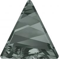 SWAROVSKI® 4717 Black Diamond  Foiled