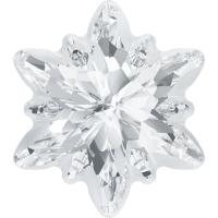 SWAROVSKI ® 4753G Edelweiss Crystal   Foiled Frosted