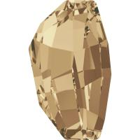 SWAROVSKI® 4760 Crystal Golden Shadow Foiled