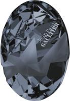 SWAROVSKI® 4920 Kaputt Oval  Crystal Silver Night  Unfoiled
