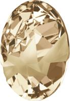 SWAROVSKI® 4921 Kaputt Oval  Crystal Golden Shadow  Foiled