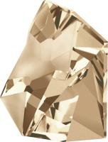 SWAROVSKI® 4923 Kaputt  Crystal Golden Shadow  Foiled