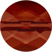 SWAROVSKI® 5052 Mini Round Bead   Crystal Red Magma