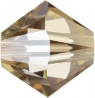SWAROVSKI® 5328 Crystal Golden Shadow MM 4,0|10 Stück - 0.92 EUR