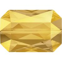 SWAROVSKI® 5515 Emerald Cut Crystal Metallic Sunshine