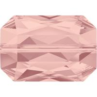 SWAROVSKI® 5515 Emerald Cut Blush Rose