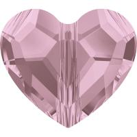 SWAROVSKI® 5741 Love Bead Crystal Antique Pink
