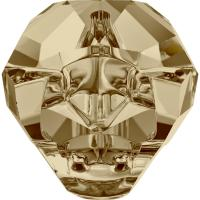 SWAROVSKI® 5751 Panther  Crystal Gold.Shadow MM 19,0|3 Stück - 43.90 EUR
