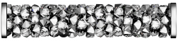 SWAROVSKI®   5950  Crystal Light Chrome  STEEL MM 30,0|10 Stück - 55 EUR