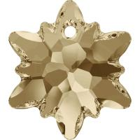 SWAROVSKI ® 6748 Edelweiss Crystal Golden Shadow