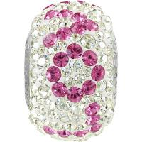 SWAROVSKI® 81732 Pavé LOVE  Rose - Crystal Moonlight