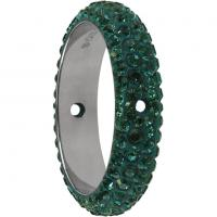 SWAROVSKI® 85001 Emerald  2 Hole