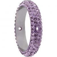 SWAROVSKI® 85001 Light Amethyst  2 Hole